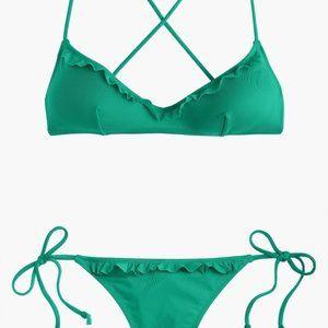 J. Crew Swim - J. Crew Playa Maui Ruffle Bikini Set